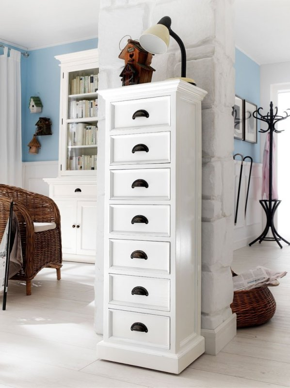 Ametis Whitehaven Painted 7 Drawer Wellington