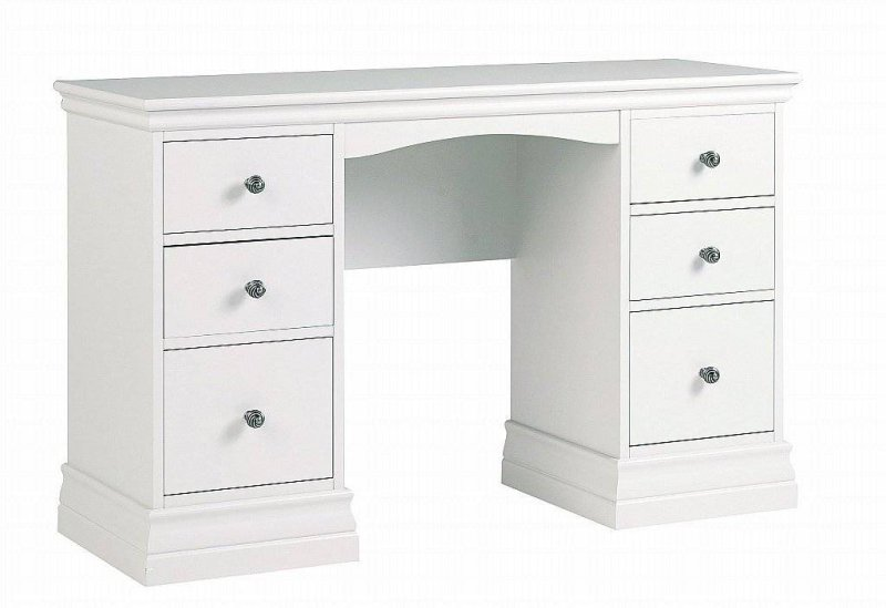 Corndell Annecy Double Pedestal Dressing Table